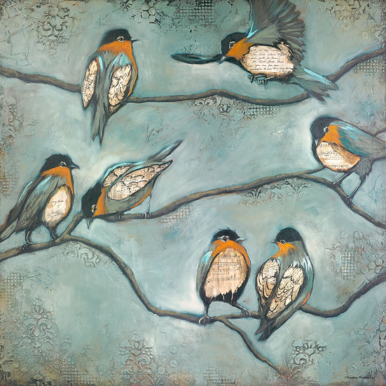 Look At The Birds #2 - Limited Edition Giclée