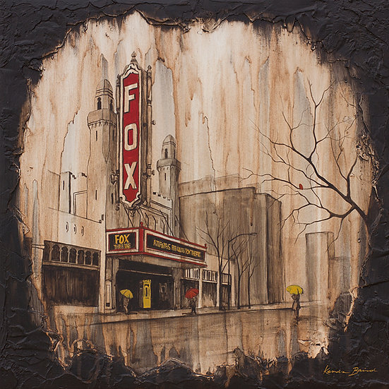 Fox Theater (Atlanta, GA) - Limited Edition Giclée