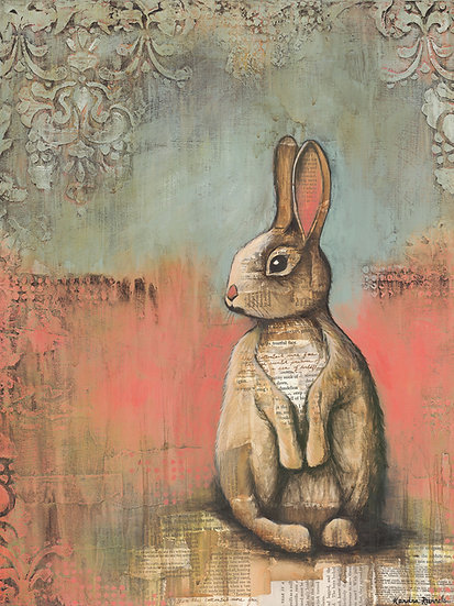 The Cottontail - Limited Edition Giclée