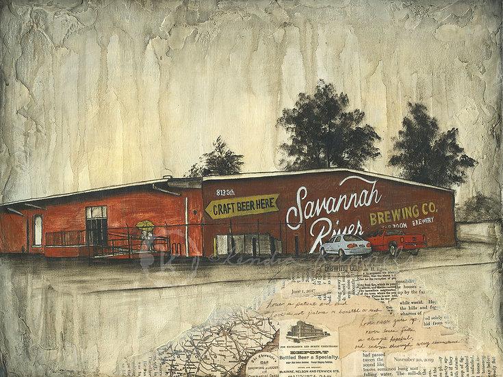 Savannah River Brewing - Limited Edition Giclée