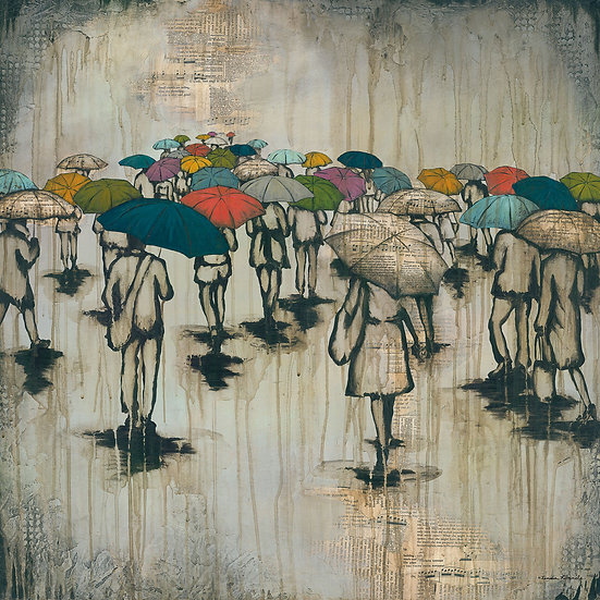 A Sea of Umbrellas #3 - Limited Edition Giclée