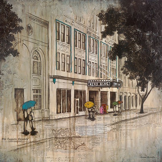 The News Building - Limited Edition Giclée