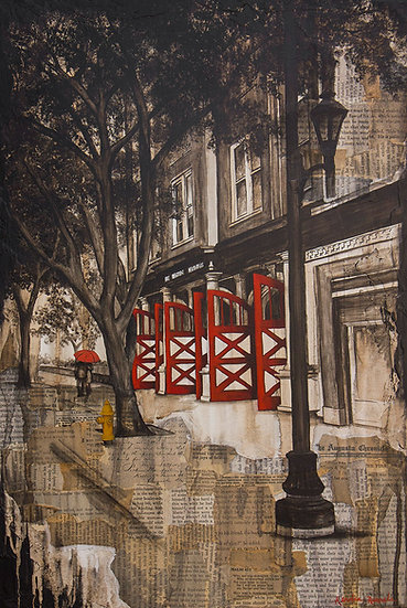 The Old Firehouse - Limited Edition Giclée