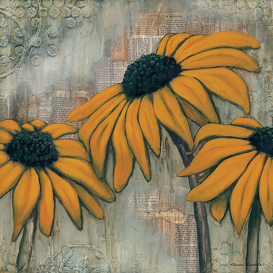 Black Eyed Susan #2 - Limited Edition Giclée