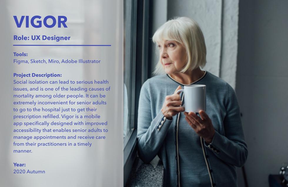 Vigor Cover Page