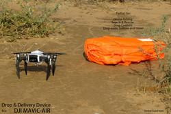 GGteam - Mavic drone fishing drop device099