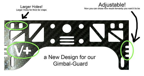15cm/1mm Gimbal Guard for DJI P2 Vision+(plus)