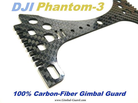 100% Carbon-fiber Gimbal Guard for Phantom 3