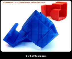 H3-3D Gimbal Clamp for DJI Phantom