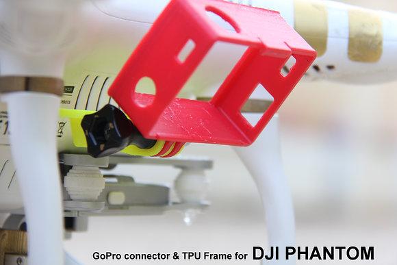 GoPro Connector & GoPro Frame for DJI Phantom