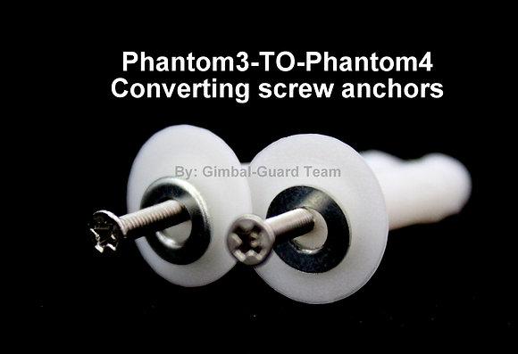 Phantom3-TO-Phantom4 Converting screw anchors