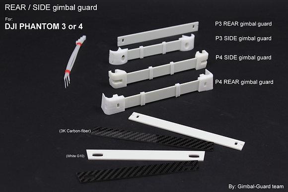 Rear/Side bar Gimbal guard for DJI Phantom 3 or 4