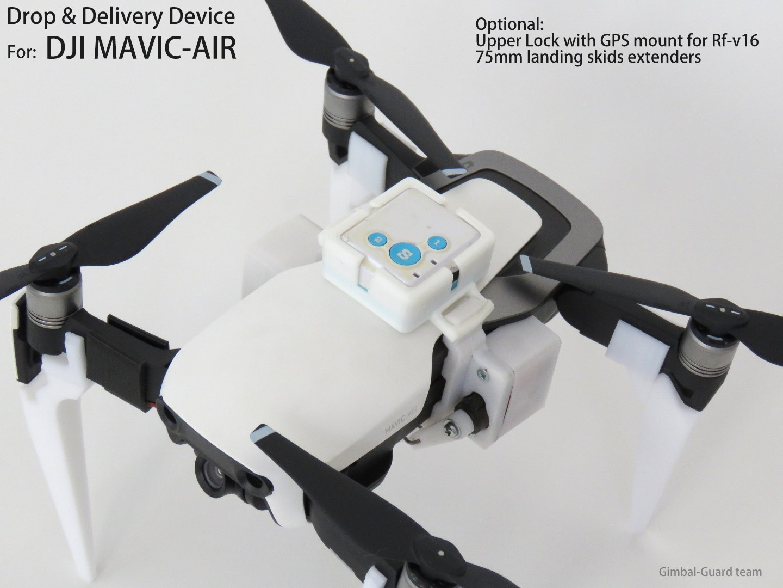 GGteam - Mavic drone fishing drop device086