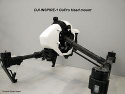 INSPIRE1 gopro head mount