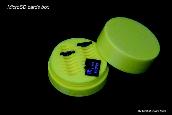 MicroSD cards box (for 18 cards)
