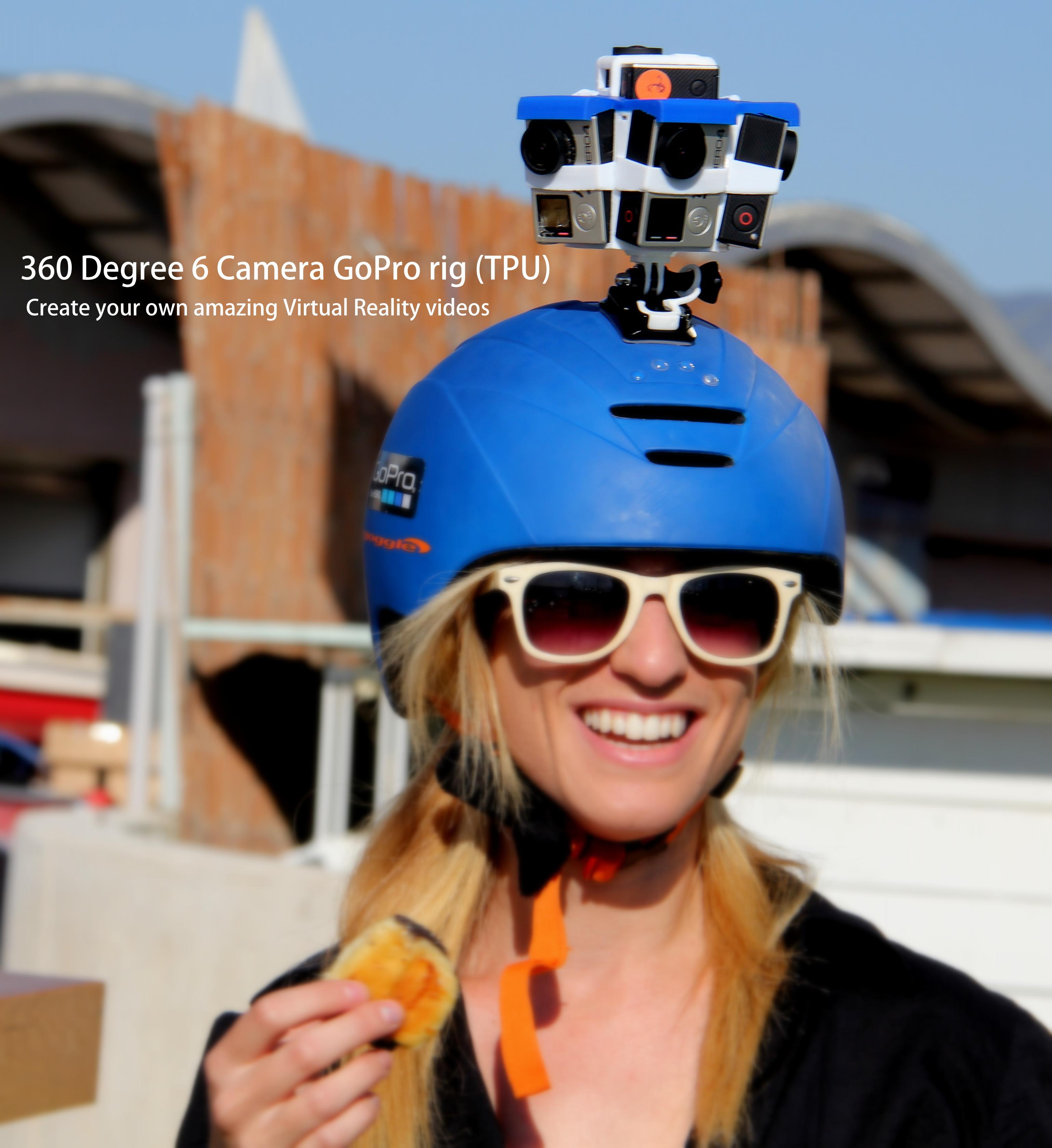 360 degree vr gopro rig