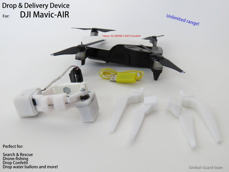 GGteam - Mavic drone fishing drop device093