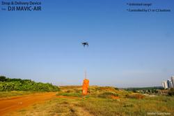 GGteam - Mavic drone fishing drop device045