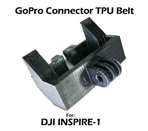 Front GoPro / Samsung360 / FLIR Connector TPU Belt