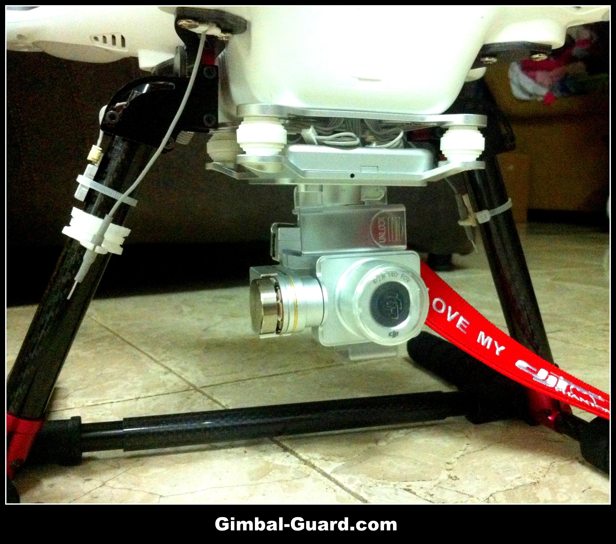 Tube carfon fiber gimbal guard