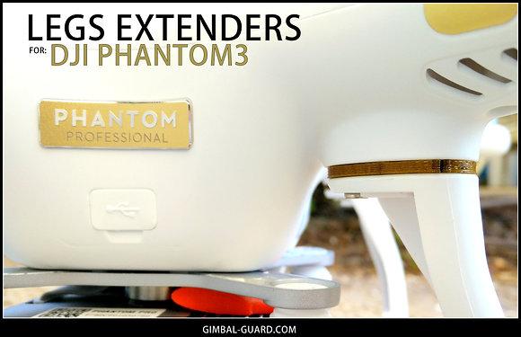 Legs extenders / spacers for DJI Phantom-3