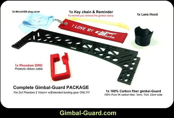 23cm/2mm - Extended Gimbal-Guard - KIT (23cm)
