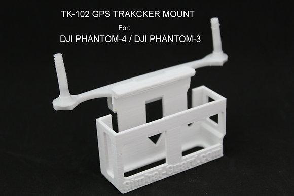 Upper Tk-102 GPS Holder for DJI Phantom 3 & 4