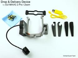 Mavic 2 zoom pro drop delivery device1