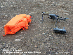 Mavic 2 Dropper for Rescue missions and