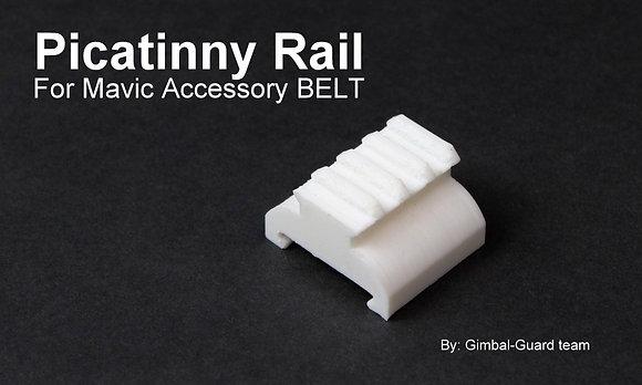 Picatinny Rail for DJI Mavic Accessory belt