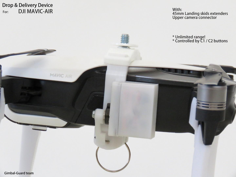 GGteam - Mavic drone fishing drop device065