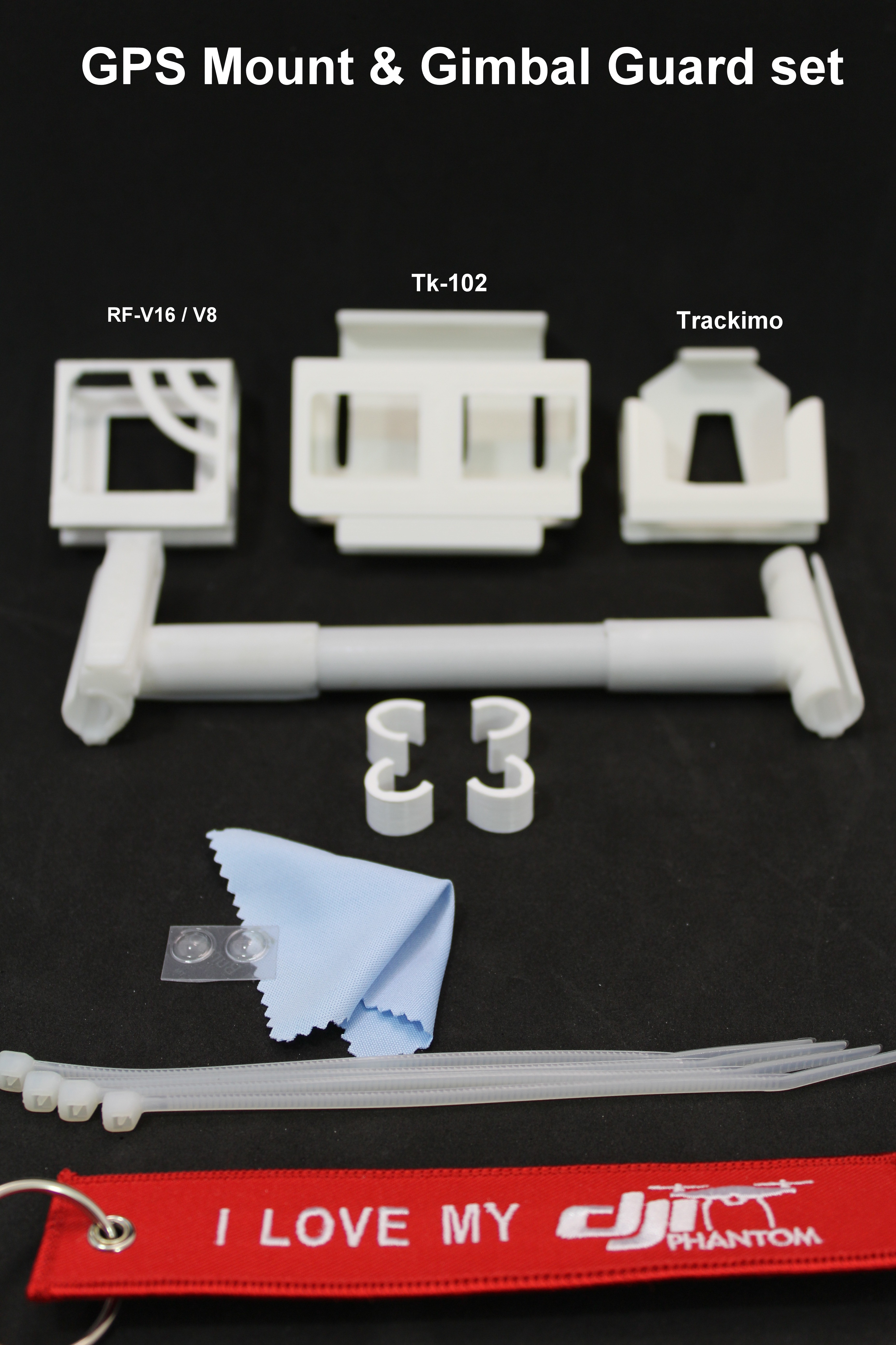tracker mounts for dji p4