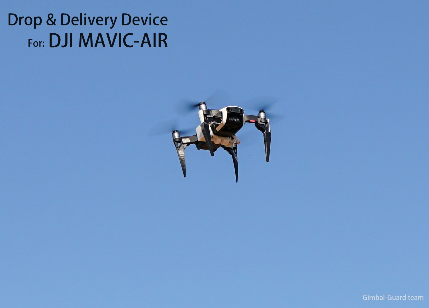 GGteam - Mavic drone fishing drop device048