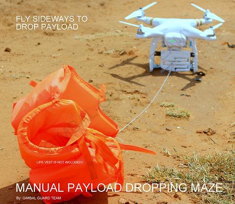 MANUAL Payload Dropping maze for DJI Phantom