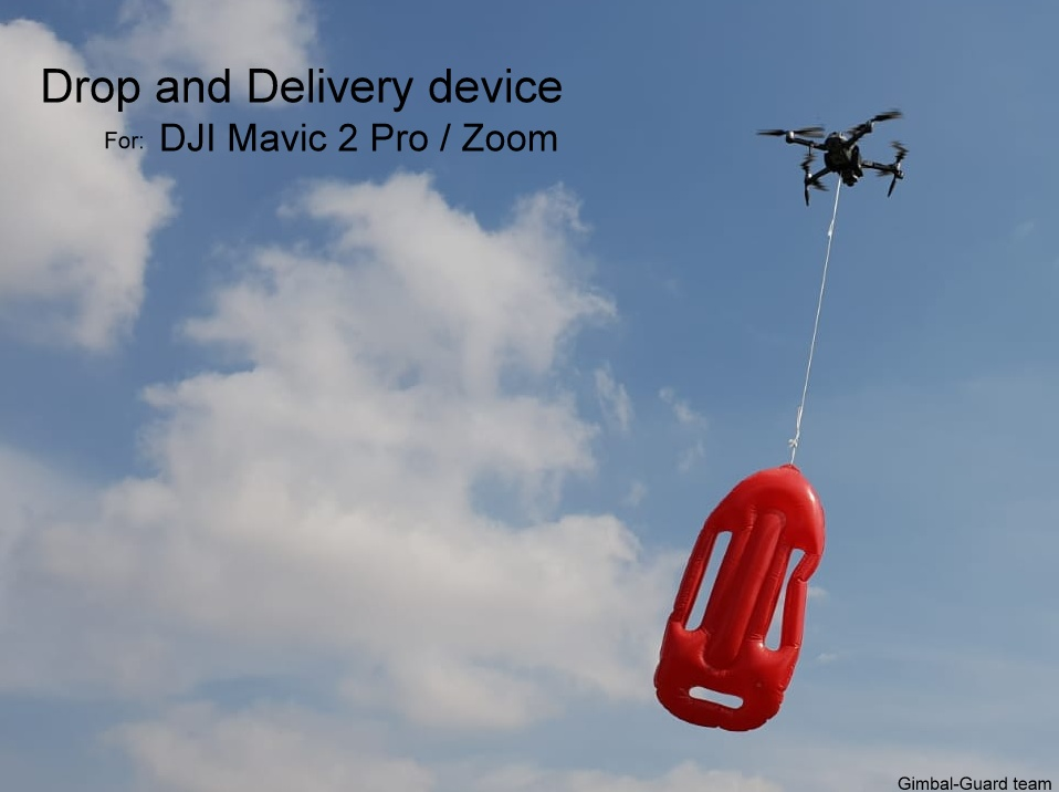 GGteam - DJI Mavic2 Drop delivery device