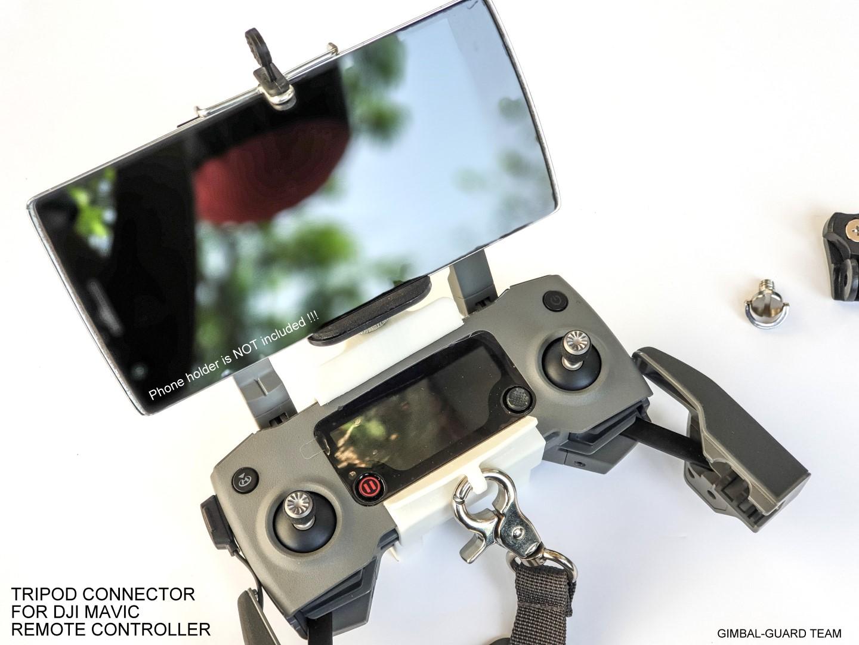 Tripod tablet connector for DJI Mavic pr