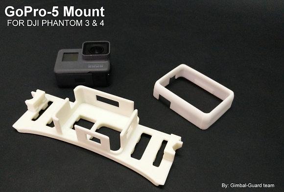 GoPro 5 Mount for DJI Phantom 3 & 4