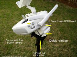 DJI phantom4 Remote control to tripo