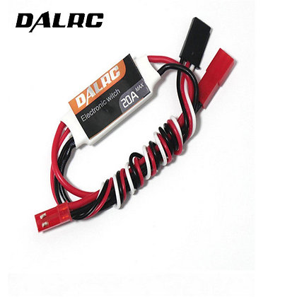 DALRC 20A High Current 3.7-28V Input RC Electroni