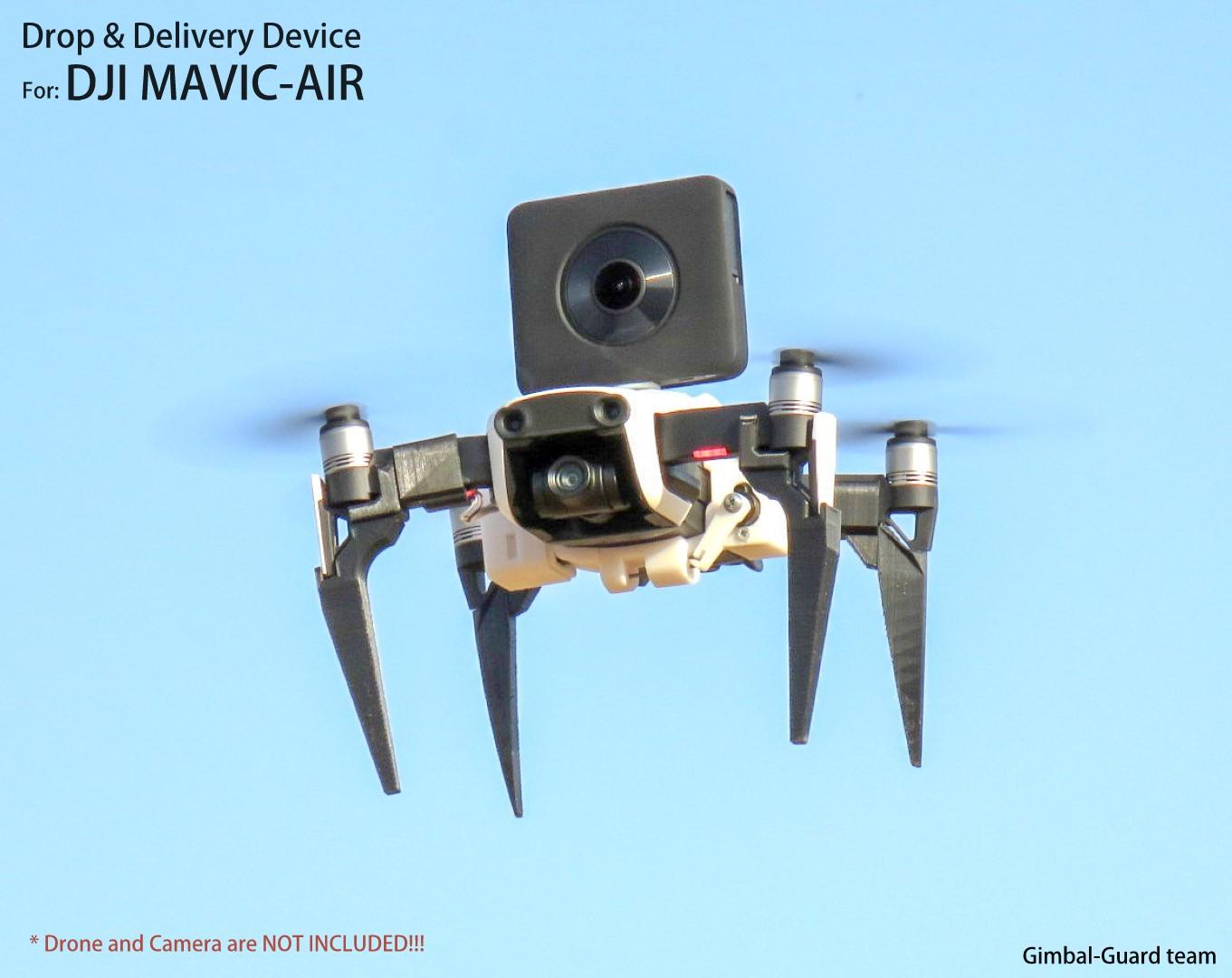 GGteam - Mavic drone fishing drop device107