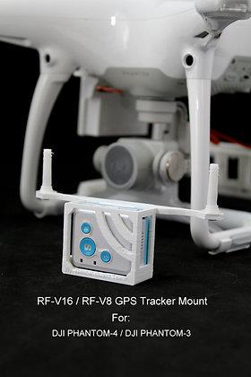 Upper RF-V16 /V8 GPS Holder for Phantom 4 & 3
