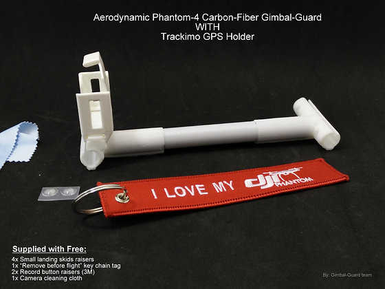 Trackimo holder & Gimbal guard for dji Phantom-4