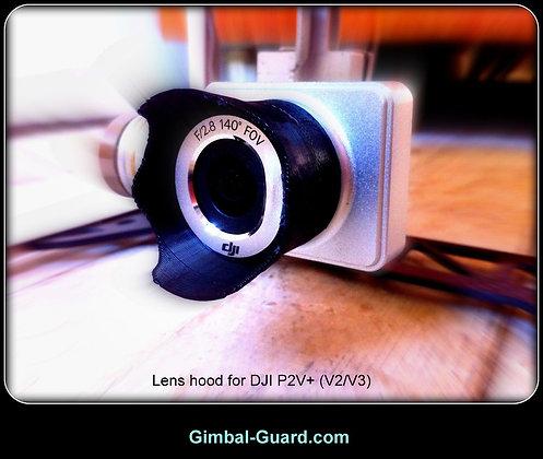 Lens Hood for DJI Phantom 2 Vision+ (Black color