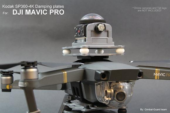 Kodak SP360-4K Damping plates for DJI Mavic pro