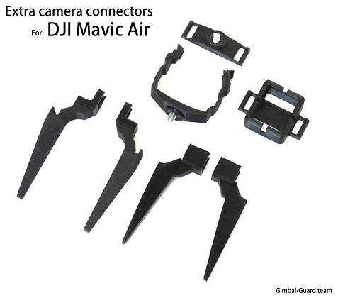 Extra camera connectors for DJI Mavic air