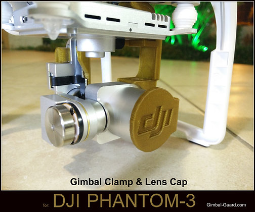 Gimbal Clamp & Lens cap for P3 Pro'/Adv'
