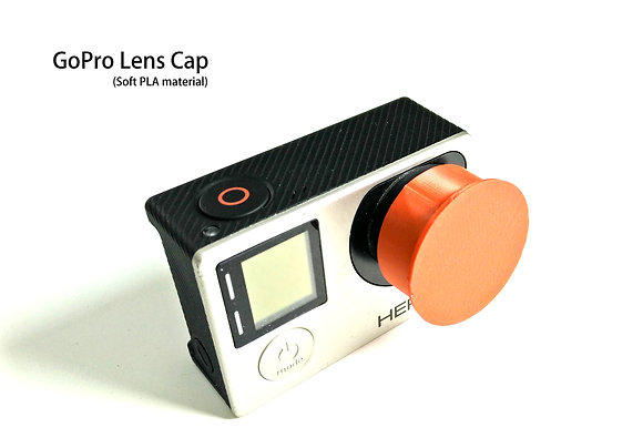 1x Lens cap for GoPro Hero3/4+ (Soft)