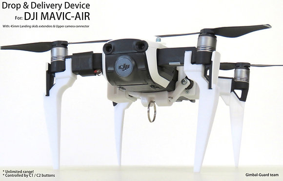 Drop & Delivery device for DJI Mavic Air- NOT FOR Mavic air2!!