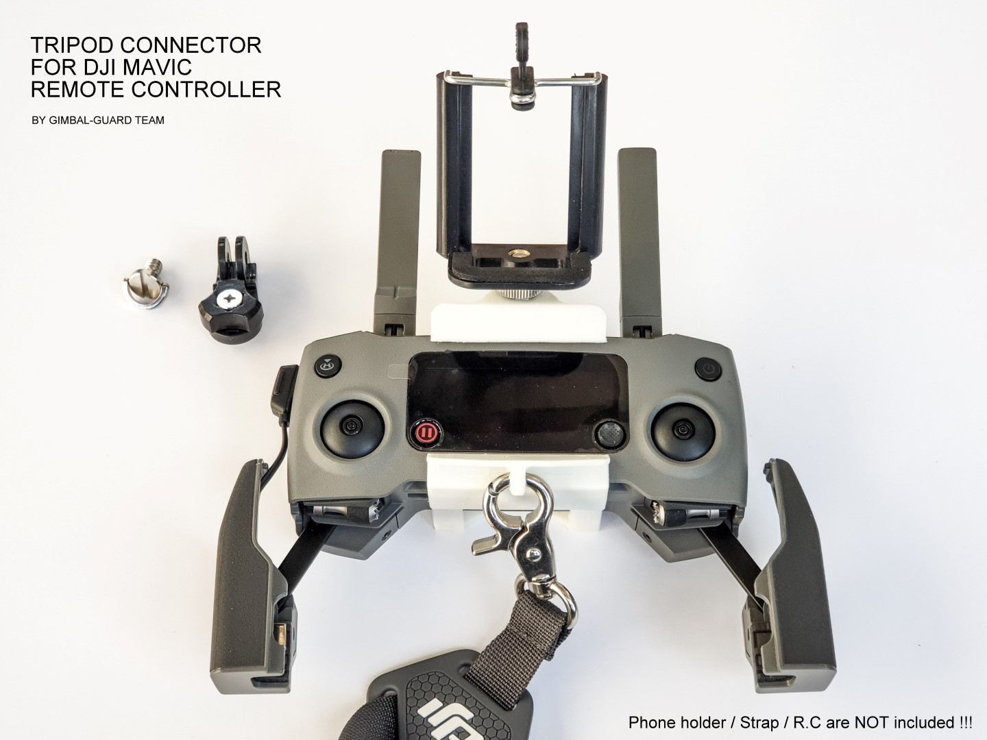 Tripod tablet connector for DJI Mavic pr