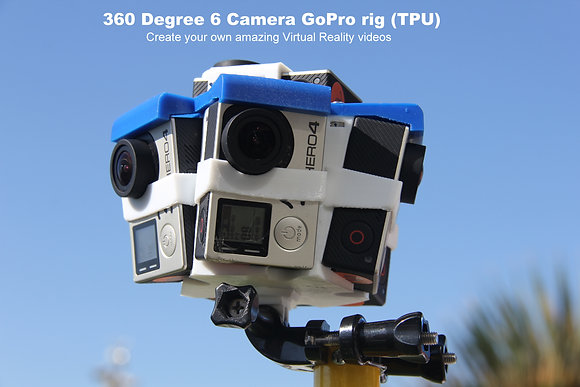 360 Degree 6 Camera GoPro rig for Inspire-1&Ground